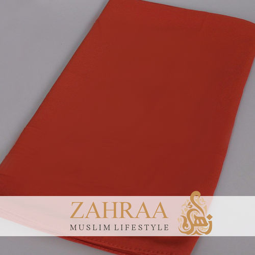 Schal Chiffon Rusty Red