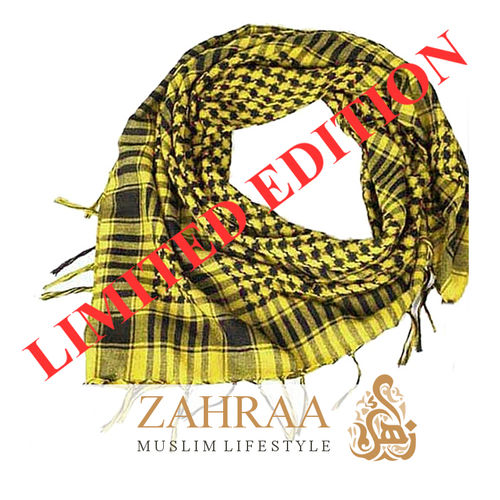 Shawl Palestine Yellow-Black LIMITED EDITION
