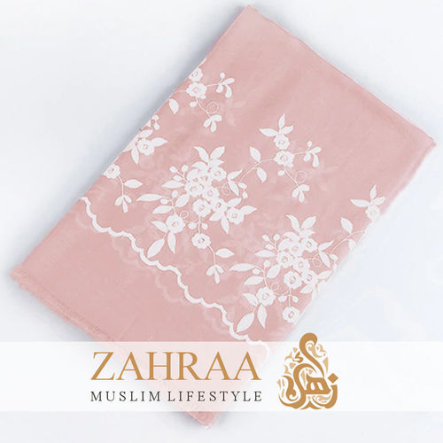 Shawl Marina Embroidery Rose