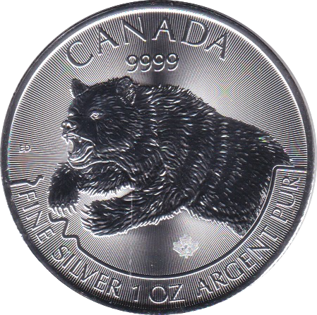 5 Dollar 2019 Grizzly